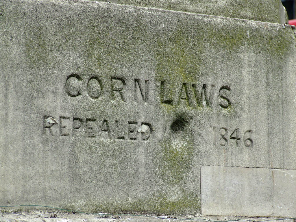 Corn Laws Repealed 1846