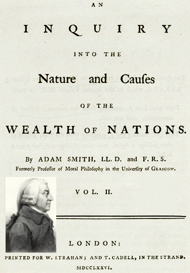 Wealth of Nations Adam Smith