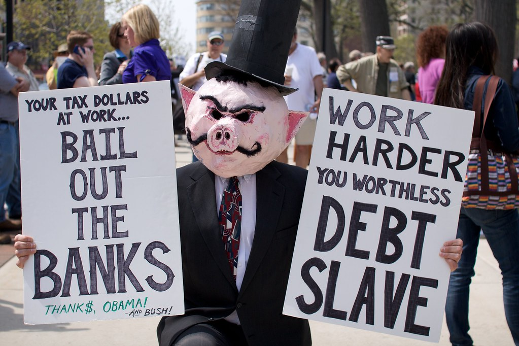 government bank debt slave