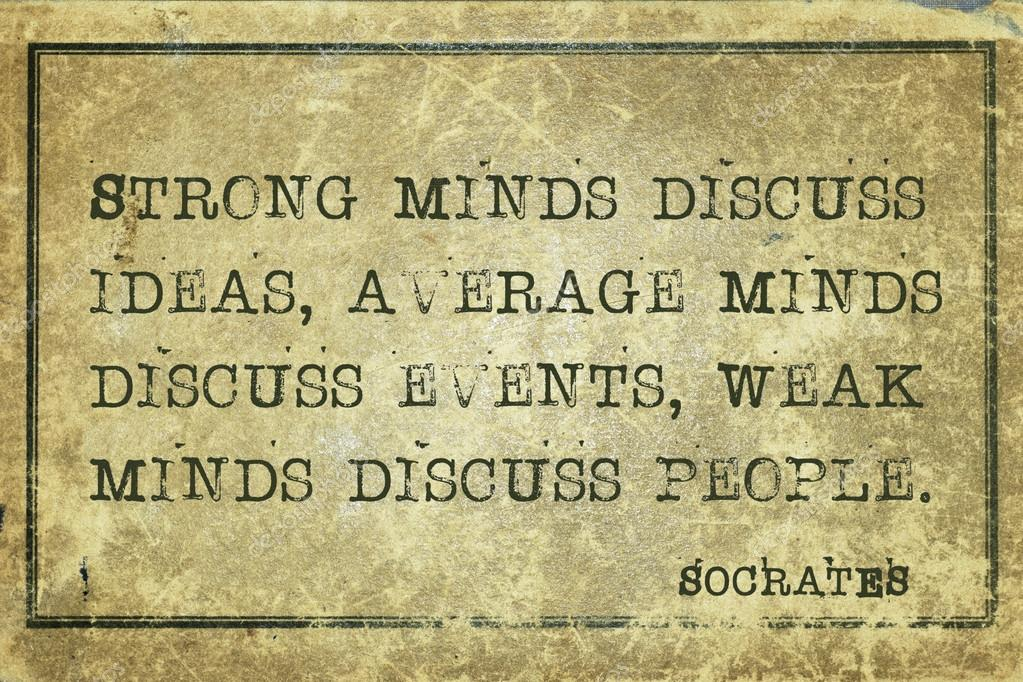 strong minds socrates