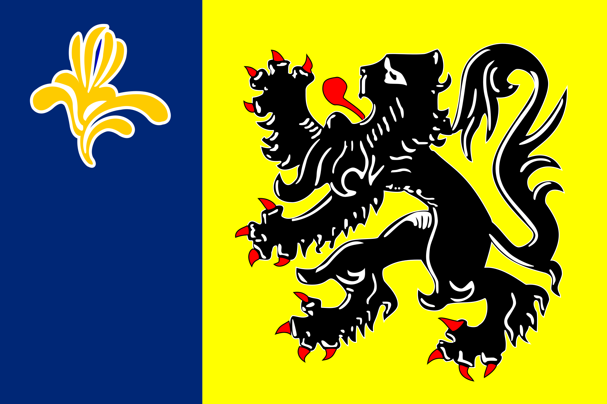 Flag of the Flemish Community Commission