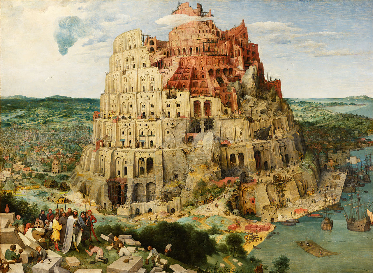 MR memes 5 Pieter Bruegel the Elder The Tower of Babel Vienna Google Art Project edited