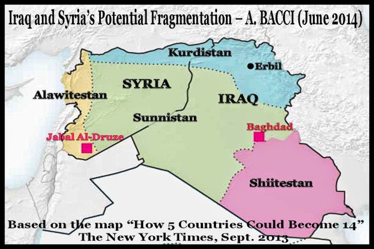 BACCI IraqSyrias PotentialFragmentation June 2014