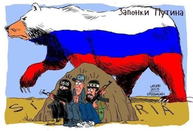 Latuff on Russia in Syria
